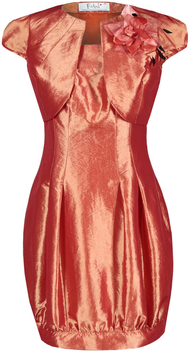 Sukienki Sukienka Suknie FSU182 POMARAŃCZOWY