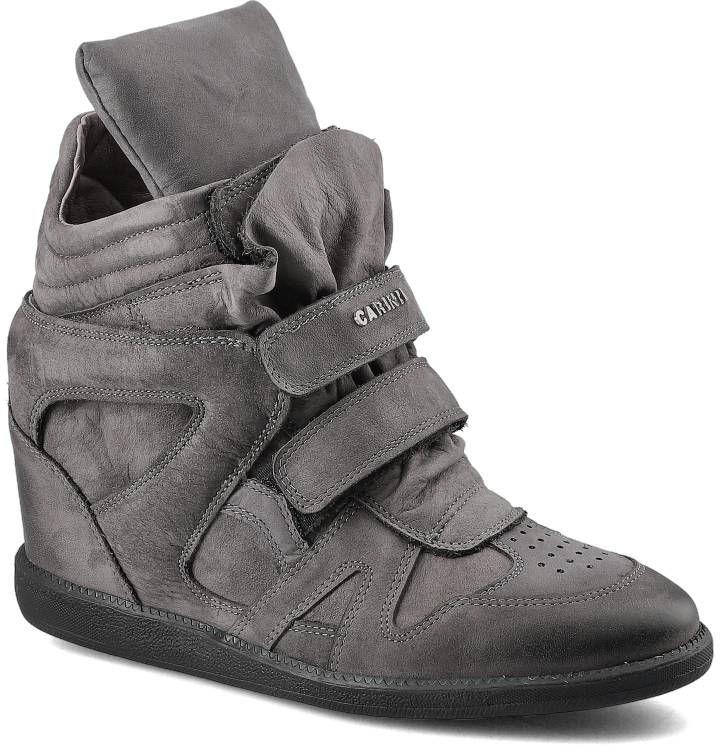 Sneakersy CARINII B3400_-G65-157-000-B18 Szary