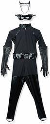 Rubie''s Official Deluxe Catwoman damska wyszukana sukienka ciemny rycerz batman superbohater damski kostium (średni)