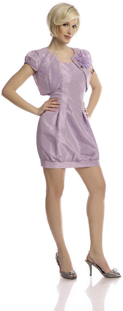 Sukienka FSU182 FIOLETOWY