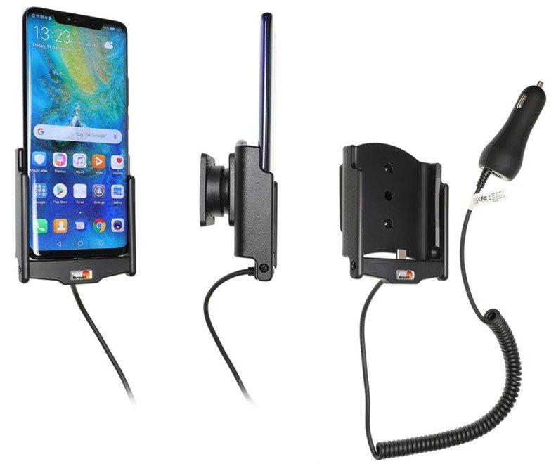 Uchwyt do Huawei Mate 20 Pro z wbudowaną ładowarką samochodową