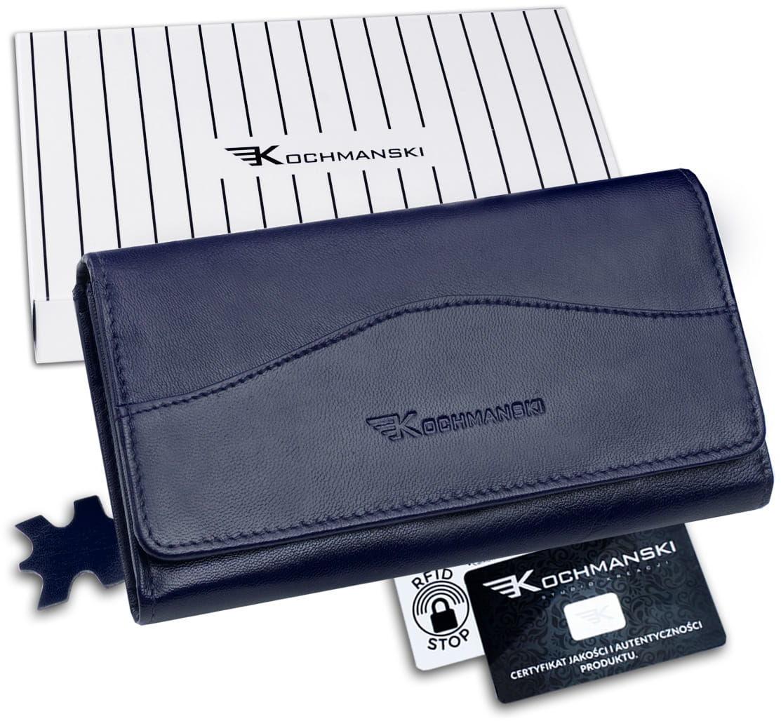 KOCHMANSKI portfel damski skórzany RFID 4345