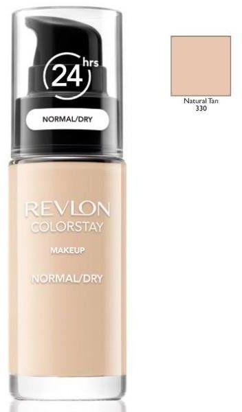 Revlon Colorstay 330 Natural Tan 30ml podkład do skóry normalnej i suchej [W]