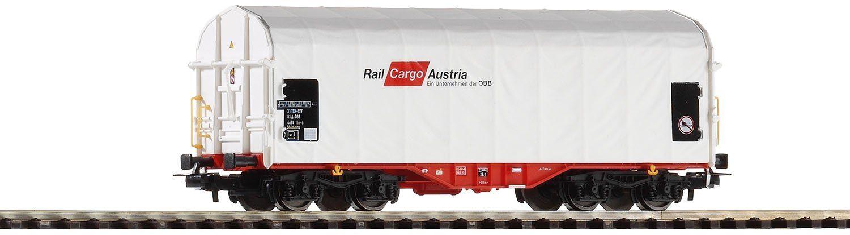 Piko 54589 wózek z plandeką przesuwną Rail Cargo Austria, Ep. VI, pojazd szynowy