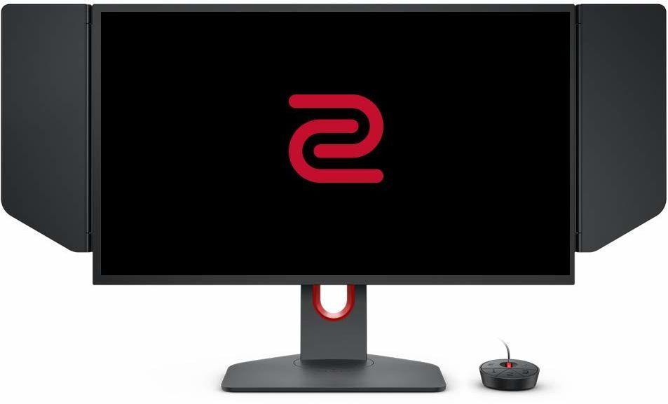 BenQ Zoom XL2546K 24,5 cala 240 Hz monitor gamingowy (DyAc+, Black eQualier, regulacja wysokości, Shields, kontroler S-Switch) dla graczy PC