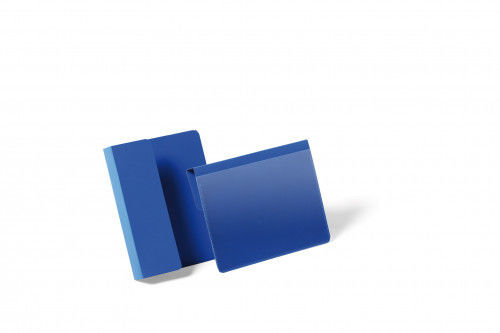 Kieszeń magazynowa wisząca A6 na palety pozioma DURABLE niebieska 50szt. 1721 07