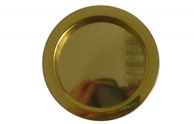 Uchwyt okrągły do drzwi przesuwnych złoty