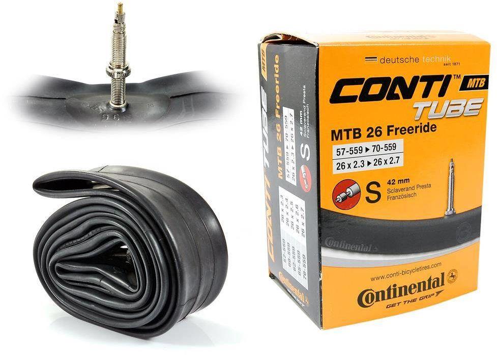 Dętka Continental MTB Freeride 26'' x 2,3'' - 2,7'' wentyl presta 42 mm