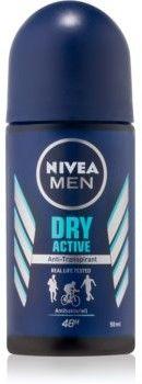 Nivea Men Dry Active antyperspirant roll-on 50 ml