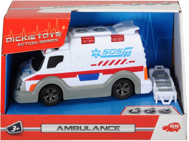 Dickie - Małe pojazdy ratunkowe Karetka pogotowia 0302001