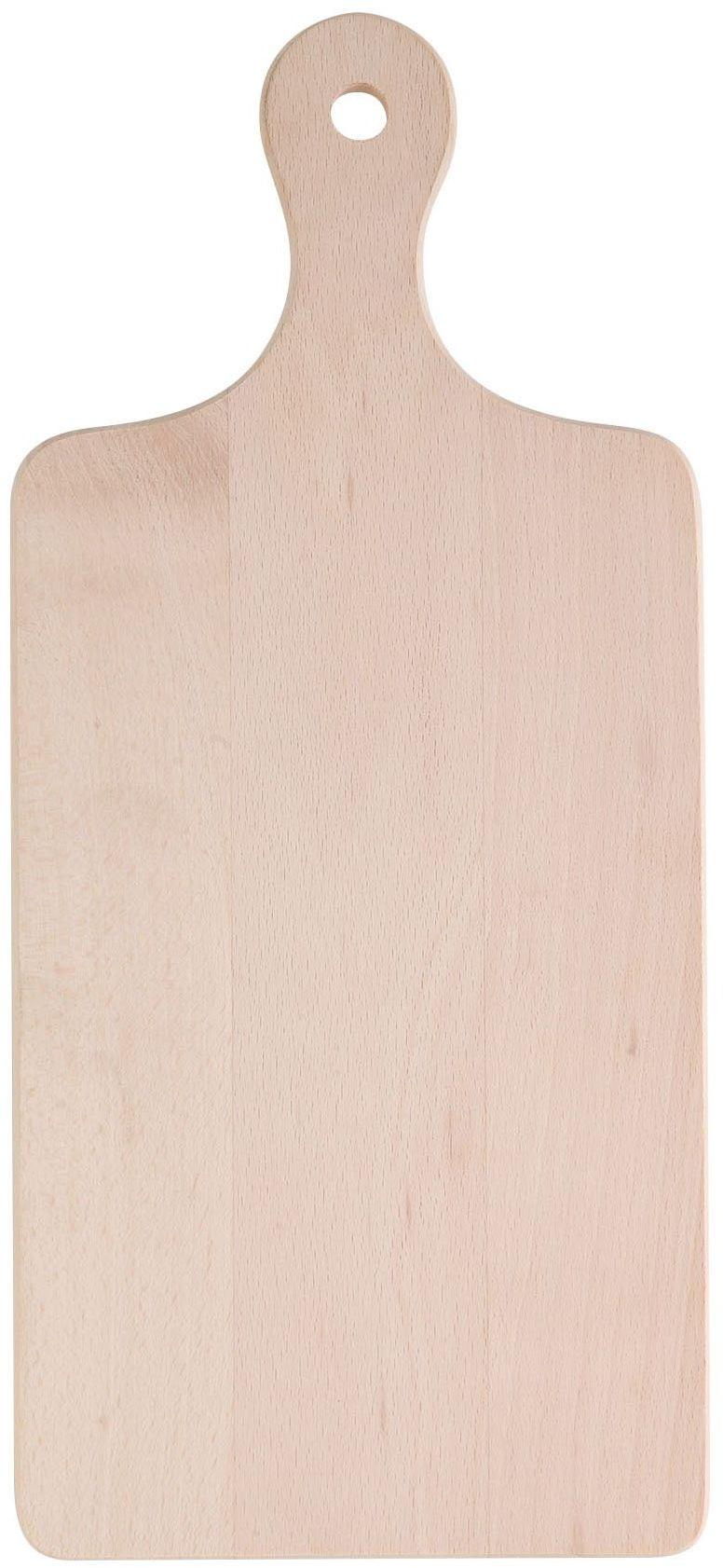 Eliplast 608/1 deska do krojenia drewna, 170 x 390 x 15 mm, szara