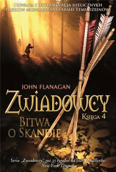 Zwiadowcy T.04 Bitwa o Skandię w.2021 BR - John Flanagan