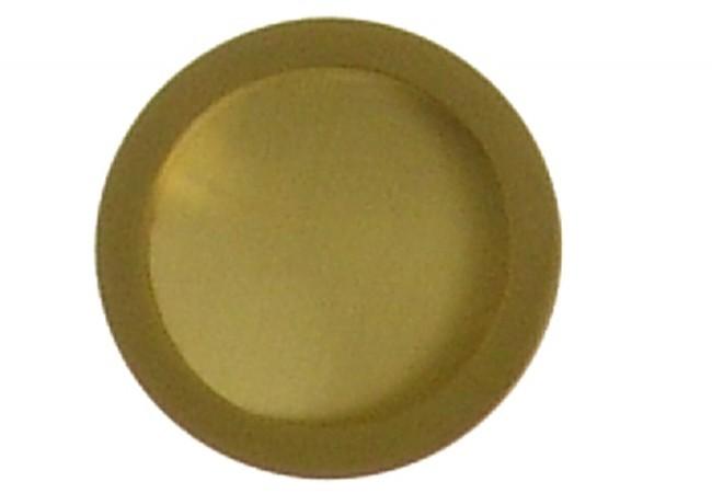 Uchwyt okrągły do drzwi przesuwnych złoty matowy