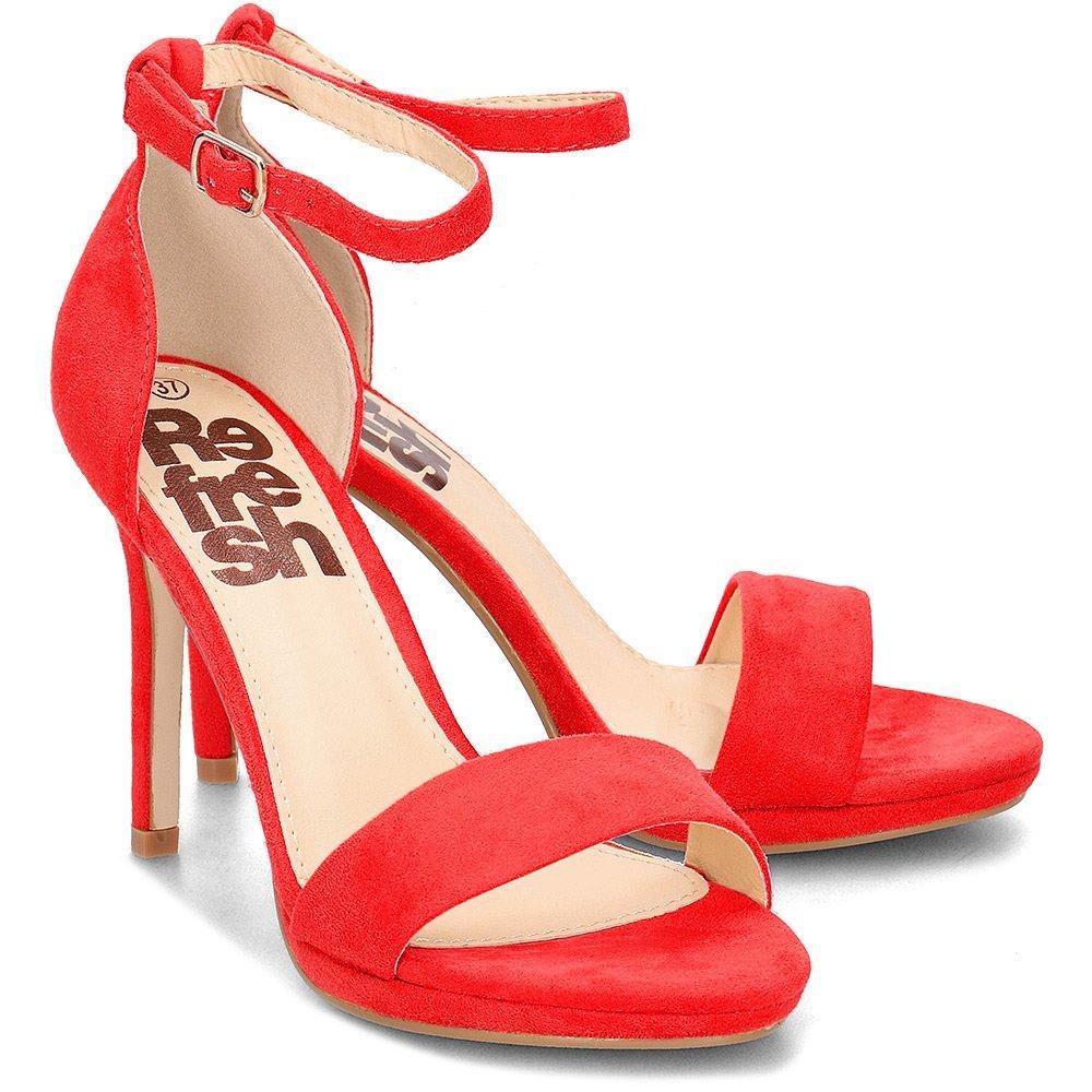 Refresh - Sandały Damskie - 69840 ROJO - Czerwony