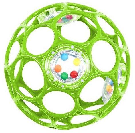 Oball - Grzechocząca piłeczka zielona 11483