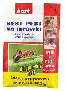 BEST-PEST NA MRÓWKI 120G + 20 G GRATIS