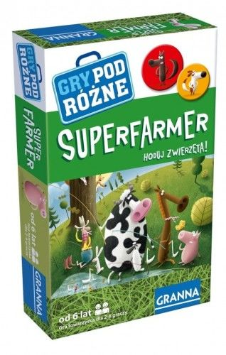 Super Farmer - wersja podróżna