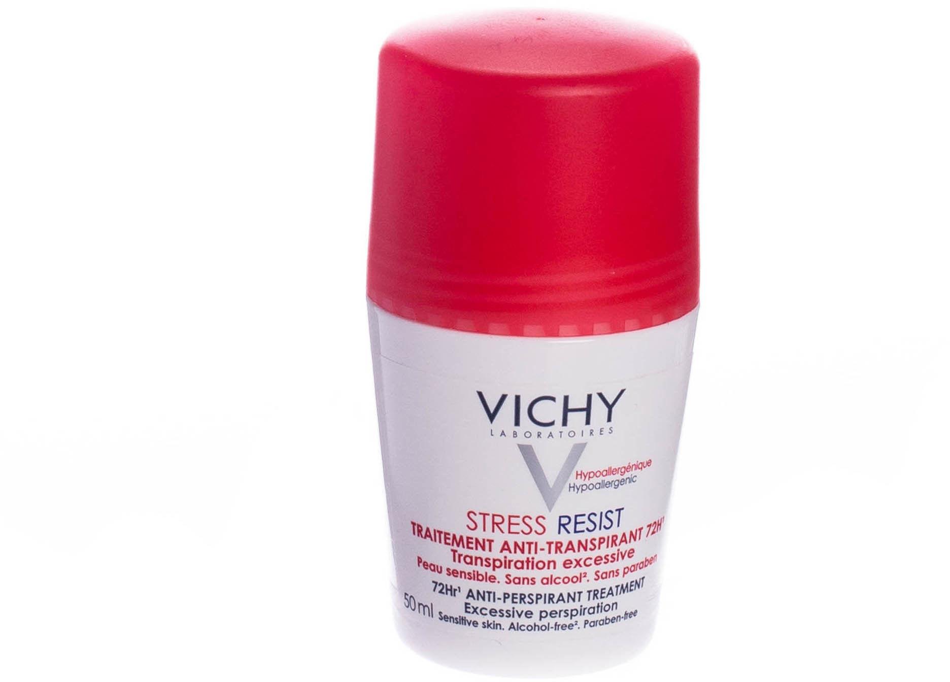 Vichy Deodorant roll-on przeciw nadmiernej potliwości 50 ml + do każdego zamówienia upominek.