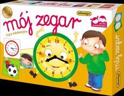 Mój zegar - loteryjka edukacyjna ZAKŁADKA DO KSIĄŻEK GRATIS DO KAŻDEGO ZAMÓWIENIA
