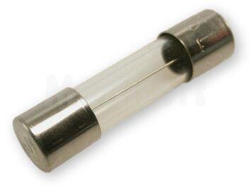Wkładka topikowa szklana 5x20mm zwłoczna 250V/5A