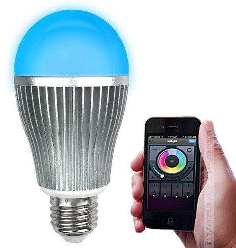 Żarówka LED RGBW WiFi 9W LUXEN LX2090