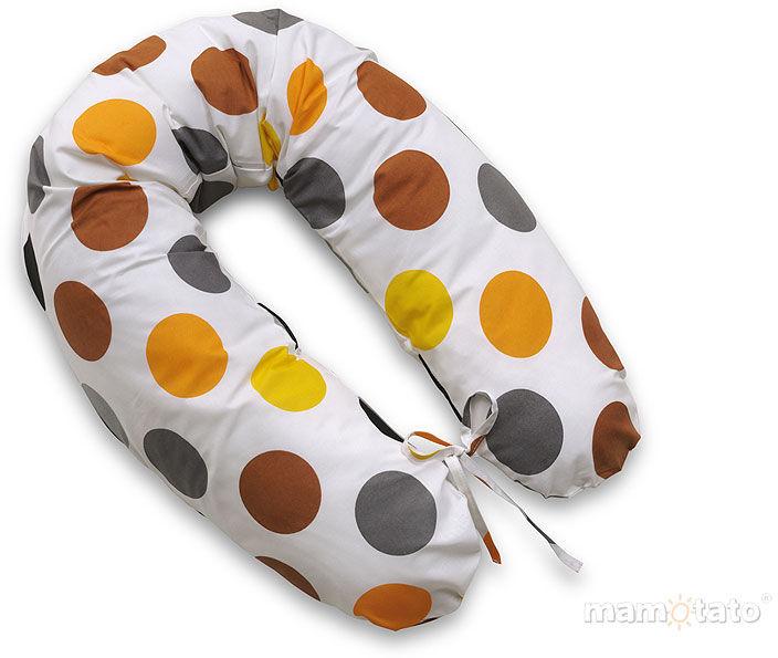MAMO-TATO Poduszka dla kobiet w ciąży Kule jesień - WYPRZEDAŻ