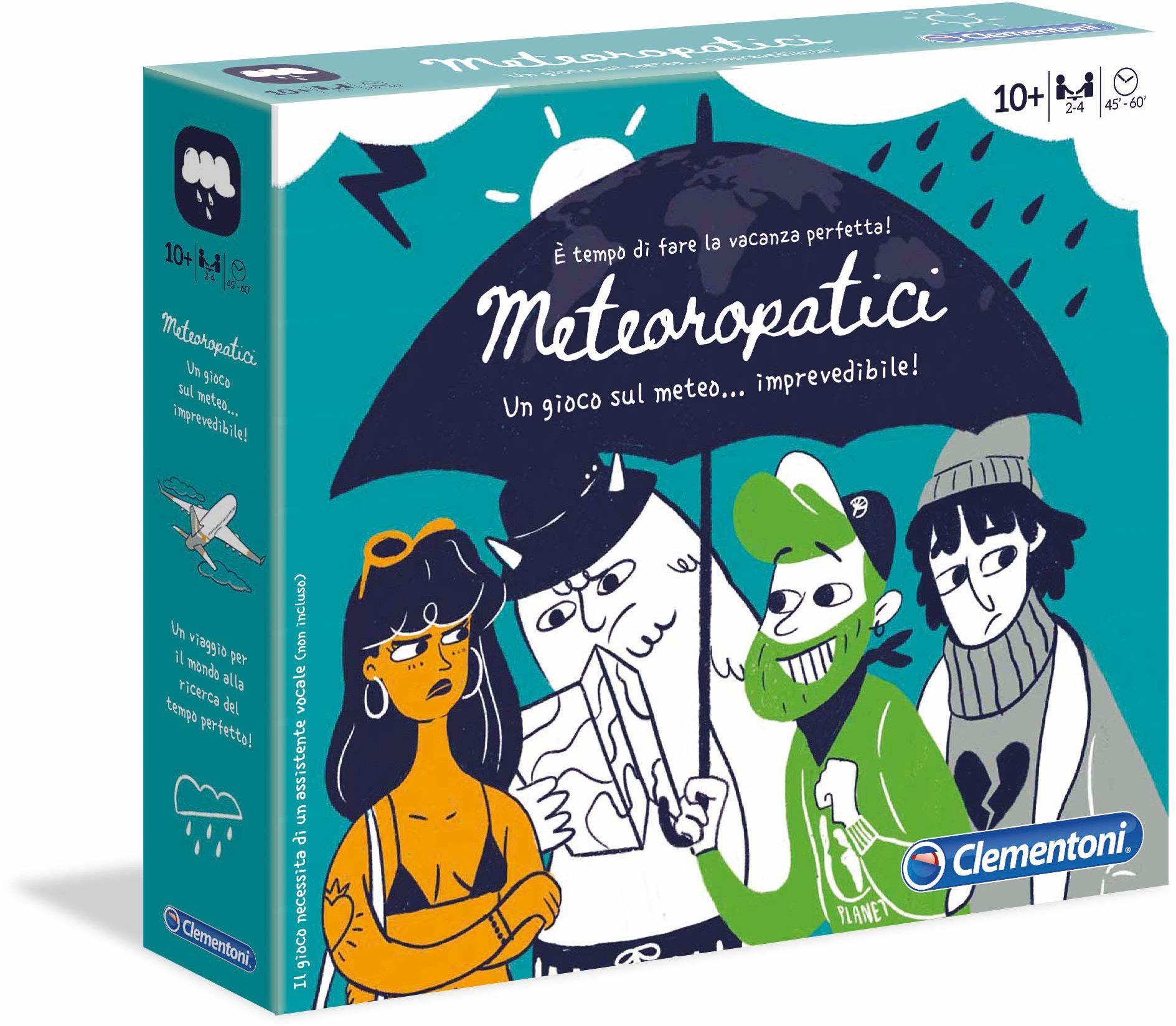 Clementoni Gra planszowa Meteoropatici (wersja językowa) wielokolorowa