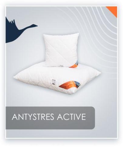 AMZ ANTYSTRES Active poduszka pikowana antyalergiczna 40x40