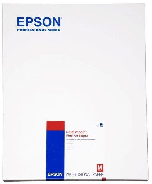 Epson S042105 Ultrasmooth Fine Art Paper, matowy, biały, A2, 325 g/m2, 25 szt.