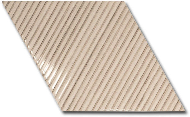 Rhombus Wall Cream Bambu 15,2x26,3