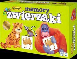 Memory Zwierzaki ZAKŁADKA DO KSIĄŻEK GRATIS DO KAŻDEGO ZAMÓWIENIA