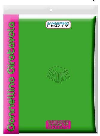 SWEEPING PARTY skóra jagnięca zielona PCW 426X74H w komplecie z taśmą klejącą MVT839