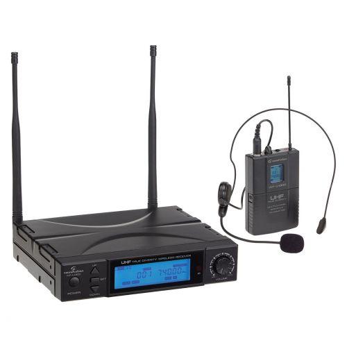 Soundsation WF-U1300P Pojedynczy mikrofon bezprzewodowy nagłowny WF-U1300P True Diversity /300CH 823-832MHz