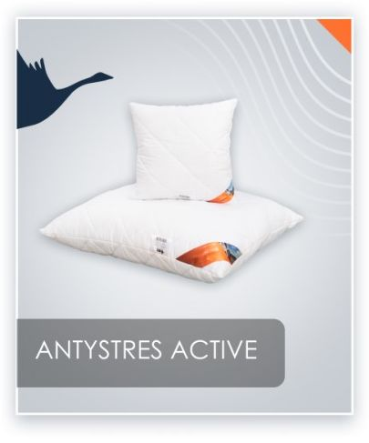 AMZ ANTYSTRES Active poduszka pikowana antyalergiczna 40x60