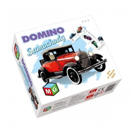 Domino Samochody w starym stylu