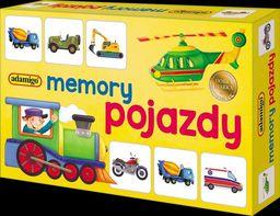 Memory Pojazdy ZAKŁADKA DO KSIĄŻEK GRATIS DO KAŻDEGO ZAMÓWIENIA