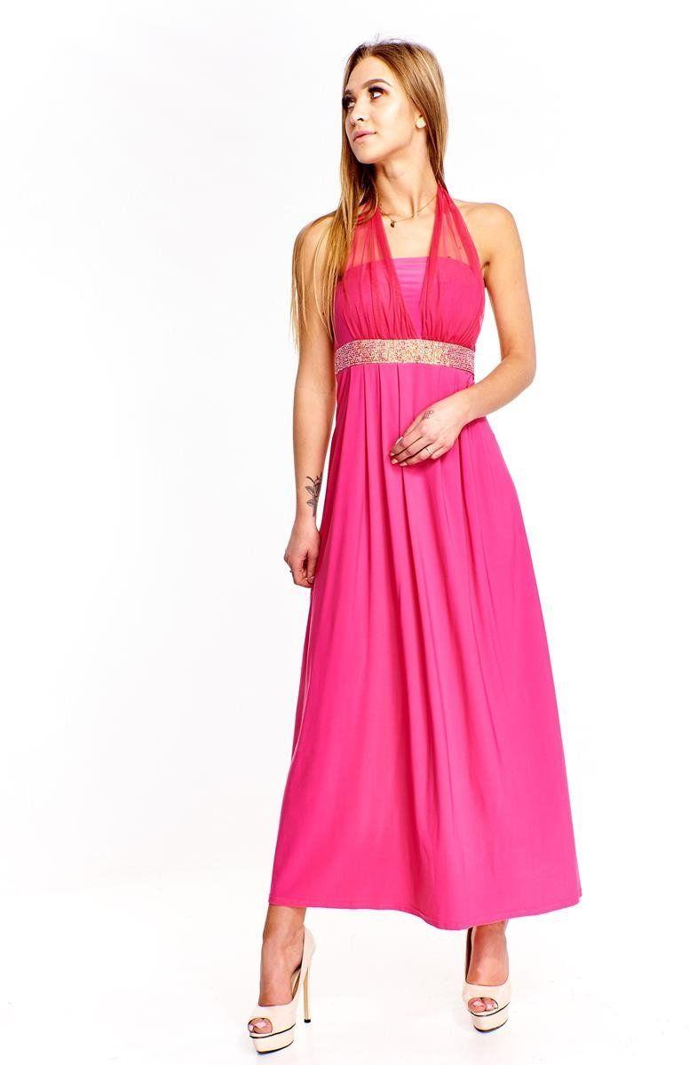 Sukienka FSU111 AMARANT JASNY