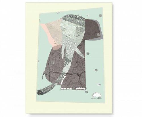 Plakat Lady Elephant