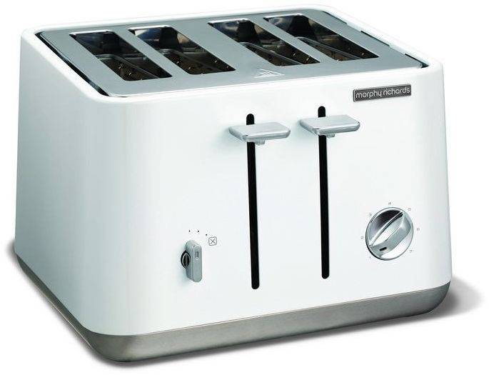 Morphy richards - toster aspect na 4 kromki - biały