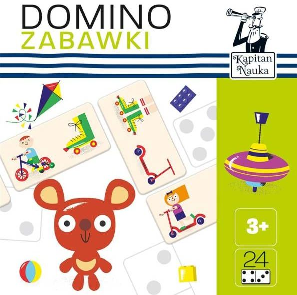 Kapitan Nauka Domino obrazkowe Zabawki