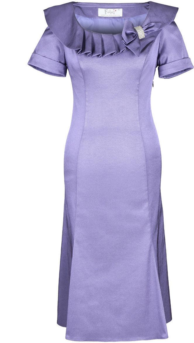 Sukienka FSU214 WRZOSOWY