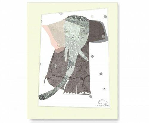 Plakat Lady Elephant1