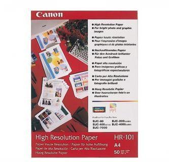 Canon HR-101 High Resolution Paper, papier fotograficzny, biały, A4, 106 g/m2, 50 szt.