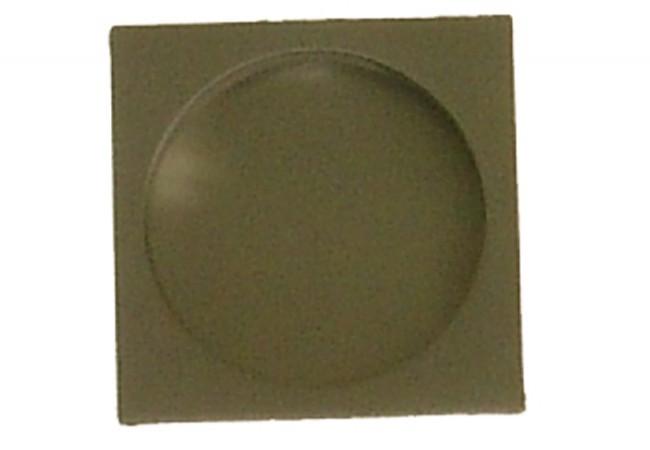 Uchwyt kwadratowy do drzwi przesuwnych wpuszczany nikiel matowy
