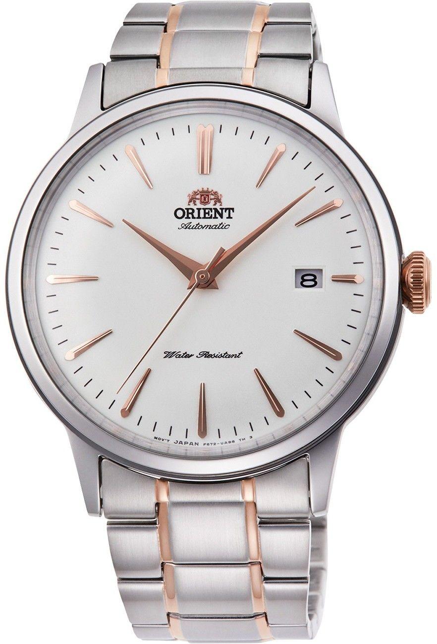 Zegarek Orient RA-AC0004S10B Bambino II Automatic - CENA DO NEGOCJACJI - DOSTAWA DHL GRATIS, KUPUJ BEZ RYZYKA - 100 dni na zwrot, możliwość wygrawerowania dowolnego tekstu.