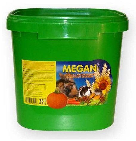 Megan Pokarm dla gryzoni wiadro 20kg [ME6]