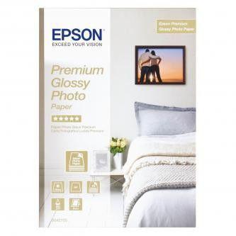 Epson S042155 Glossy Photo Paper, papier fotograficzny, błyszczący, biały, A4, 255 g/m2, 15 szt.
