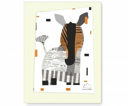 Plakat Eco Zebra