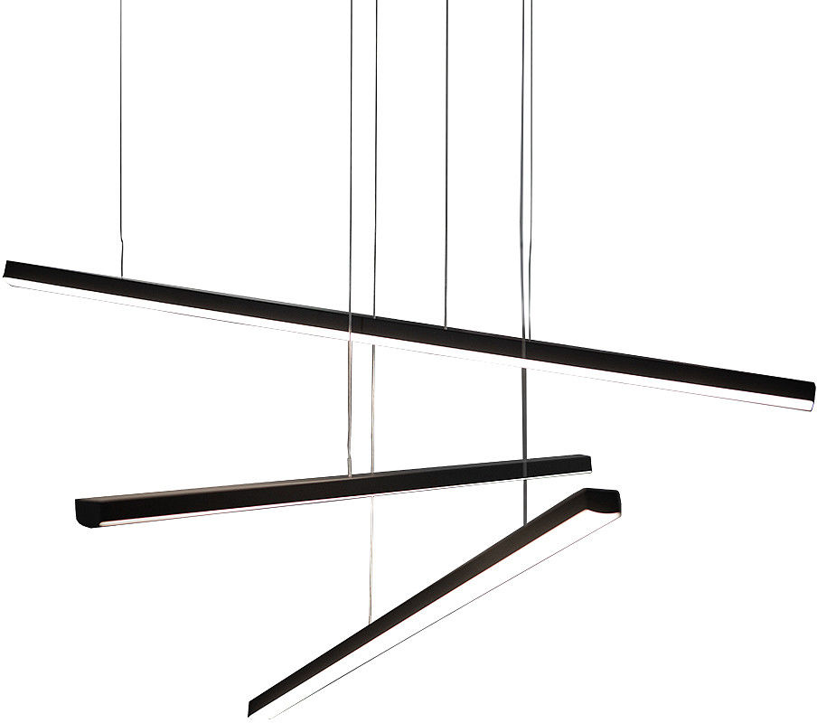 Żyrandol Trio P0311 MAXlight czarna oprawa w stylu design