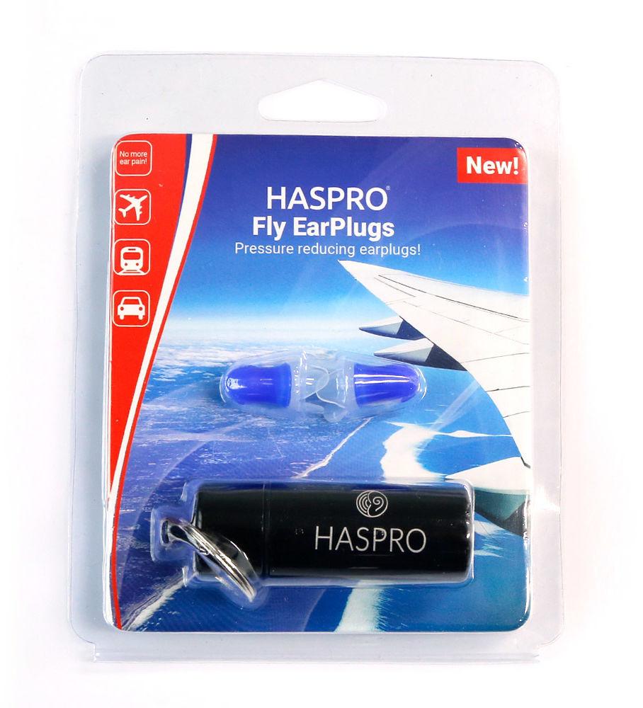 Haspro Fly Earplugs podróż samolot zatyczki do uszu